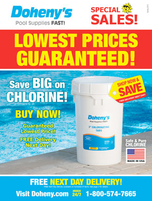 Doheny's Catalog special offers and more! Request today.