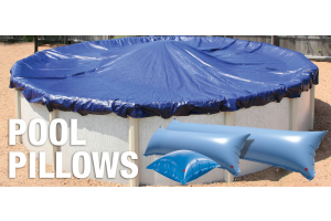 pool pillows and winter pool covers