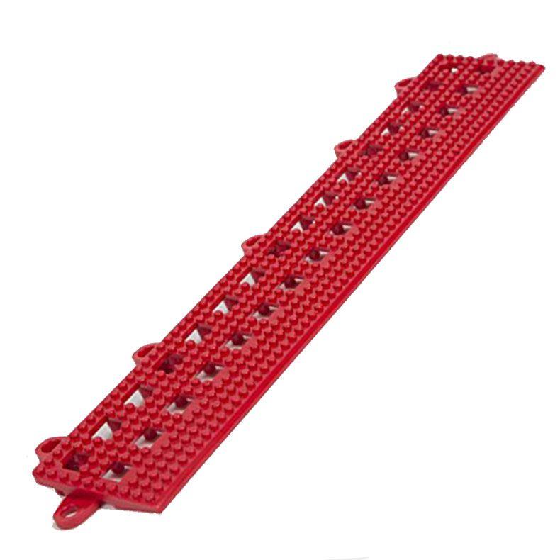 Dri-Dek 2x12 in Beveled Edge Tile Pool Decking, Red ...