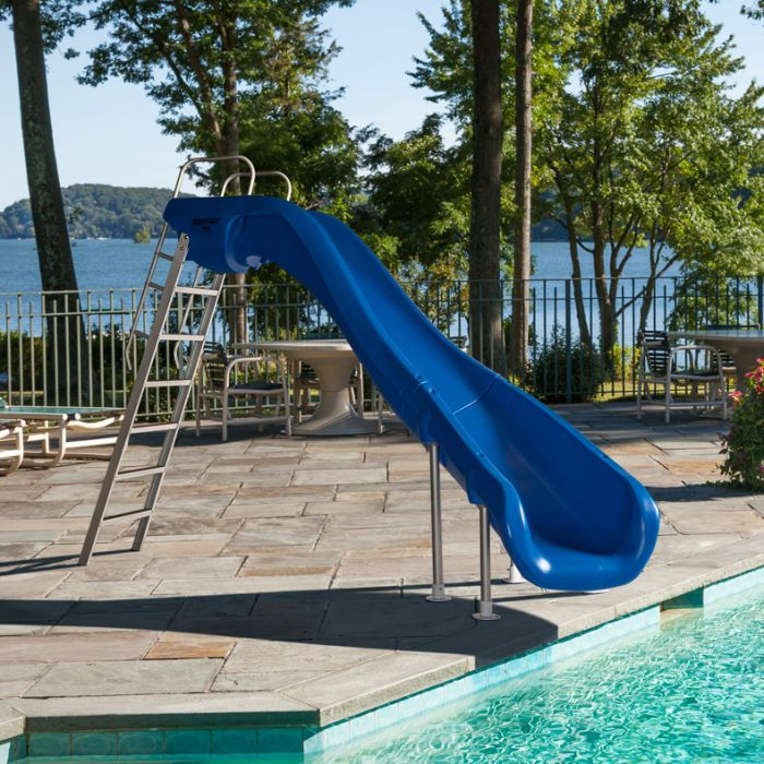Sr Smith Rogue 2 Pool Slide Right Turn, How Much Is A Slide For Inground Pool