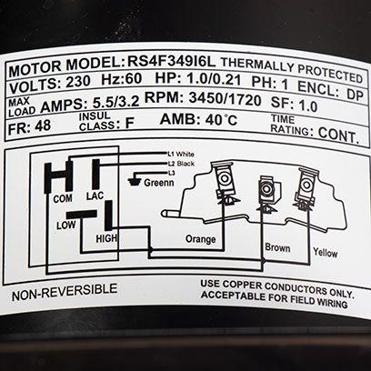 Doheny's 2-Speed Pool Pump, 220V, 1.5 HP - Doheny'sDoheny's