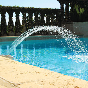 Accessories inground pool supplies doheny 39 s pool - Swimming pool fountains and lights ...