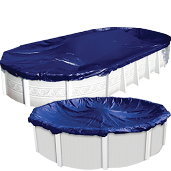 Above ground winter pool covers accessories doheny 39 s for Above ground pool equipment
